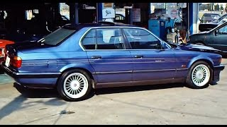 BMW ALPINA B12 5.0 (E32) 7 series. Quick look
