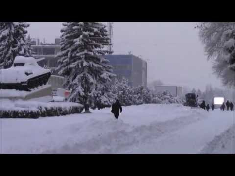 Ninsori puternice la Balti | 06.02.2012