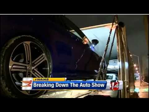 Tear down for the 2014 North American International Auto Show
