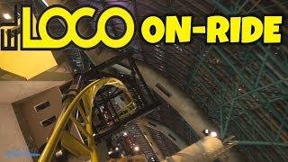 EL LOCO On-ride Front Seat (HD POV) Adventure Dome Las Vegas