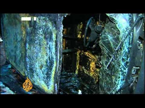 Midnight mass in tense Egypt