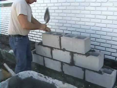 Ez Concrete Cement Cinder Block And Brick Laying Using