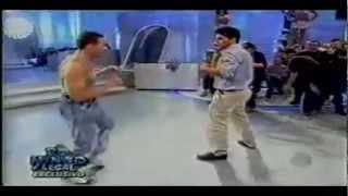 VAN DAMME Imitates Stallone, Schwarzenegger & Seagal