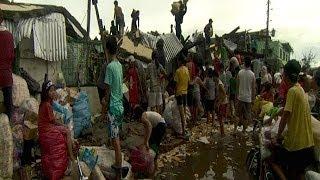 Hao123-300 مليون دولار على الأقل لمساعدة منكوبي إعصار الفلبين