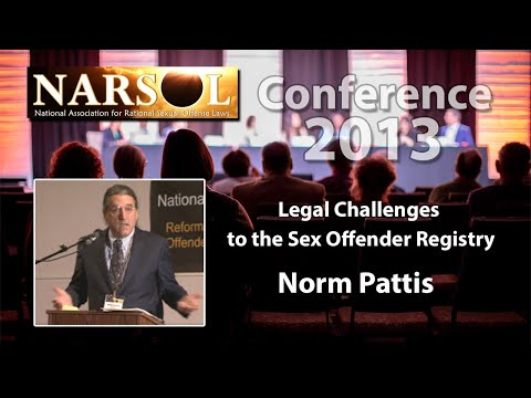 Norm Pattis:  Legal Challenges to the Sex Offender Registry