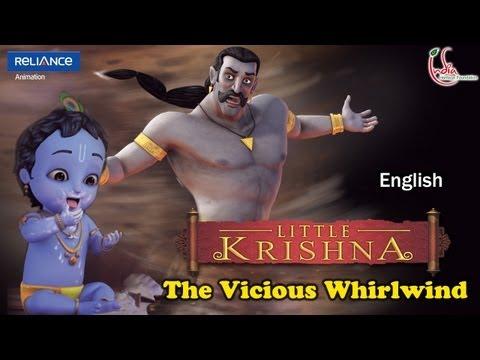 "01_1201 LITTLE KRISHNA EPISODE 12 ""THE VICIOUS WHIRLWIND"""