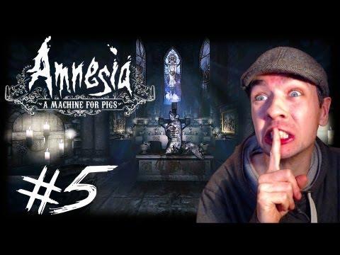 Amnesia: A Machine for Pigs - Part 5 | MANBEARPIG ATTACK | Gameplay Walkthrough