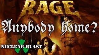 RAGE - Anybody Home? (LYRIC VIDEO)