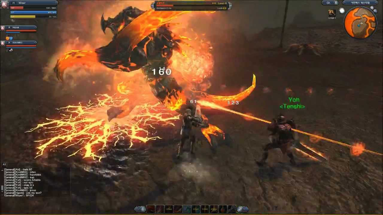 Raiderz is a new kind of mmo experience for me