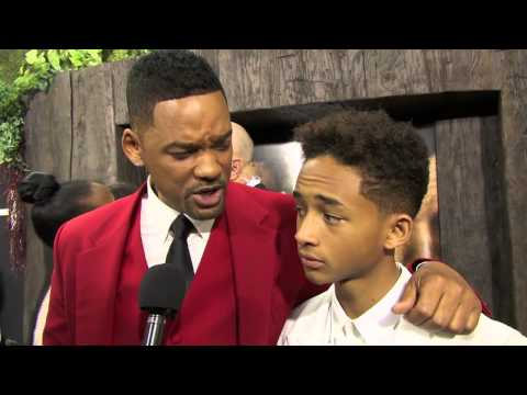 Will & Jaden Smith talk about joining forces for After Earth!