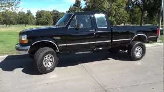 Awesome Low Miles Lifted 1995 Ford F-250 7.3L Powerstroke