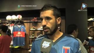 """Echeverría: """"Queremos ser protagonistas"""". Tigre. Primera División 2015. FPT"""