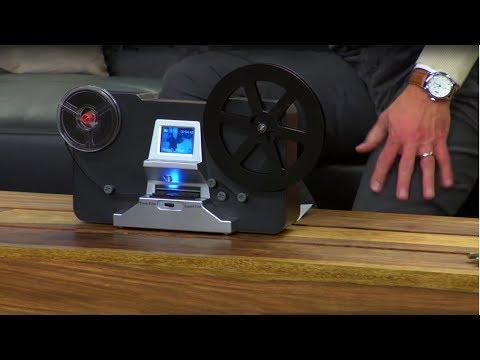 Somikon HD-XL-Film-Scanner & -Digitalisierer für Super 8 /  8mm, Stand-Alone