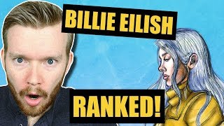All Billie Eilish Song Ranked Worst to Best
