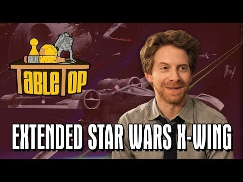 TableTop Extended: Star Wars X-Wing (Seth Green, Wil Wheaton, Clare Grant, Mike Lamond)