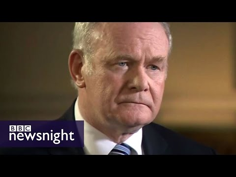 Paxman's compelling interview with Martin McGuinness - Newsnight