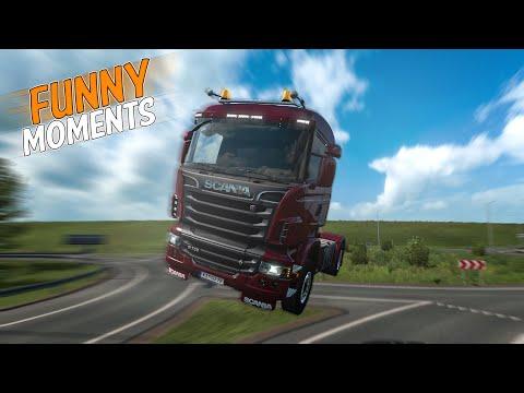 EP.#15 - Funny & Random Moments - Euro Truck Simulator 2