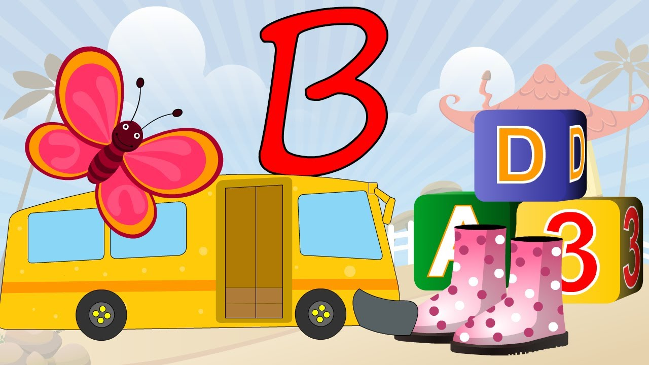 Phonics - Learn About The Letter B - Preschool Activity