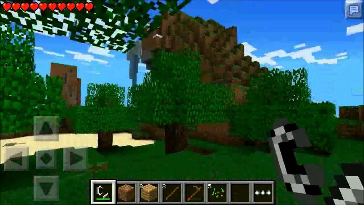 Minecraft 0.7.5 На Андроид