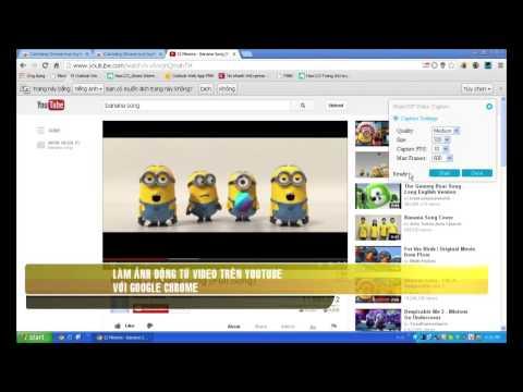 Làm ảnh động từ Video trên Youtube với Google Chrome