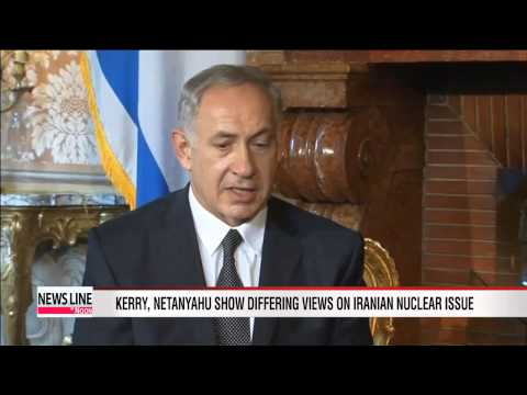 Kerry, Netanyahu discuss Iranian nuclear issue in Rome