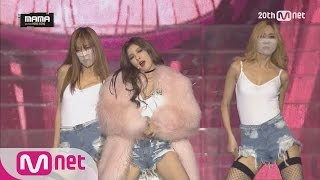MAMA2015 - HyunA - Roll Deep, Red YouTube 影片