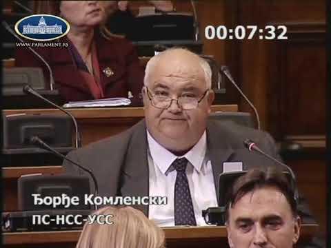 Ђорђе Комленски 14.05. 2019. - За нека кривична дела и доживотни затвор је мало!