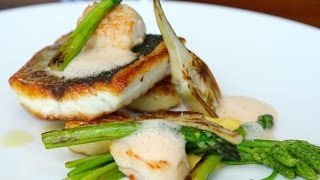 Seabass Recipe |  How to Cook Seabass | The Salt Room Restaurant