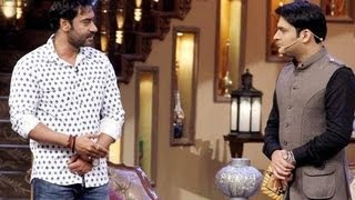 Comedy Nights With Kapil 24th August 2013 Ajay Devgan On Show