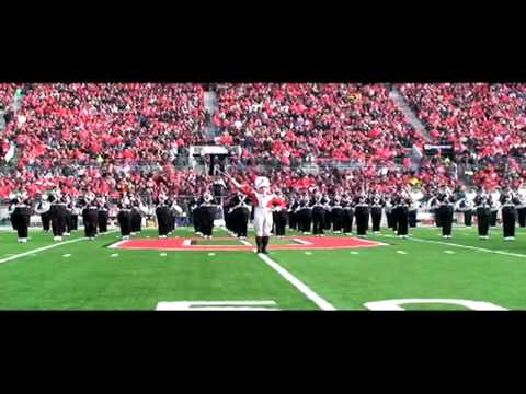 Ohio State University Marching Band Drum Major Trailer