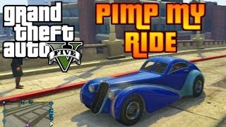GTA V Pimp My Ride #25 Truffade Z-Type (Bugatti Type