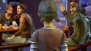 Clem Having Dinner With Luke vs With KENNY -All Choices- The Walking Dead