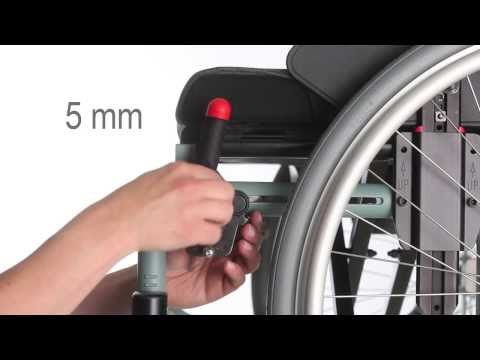 Wheelchair Etac Cross 5 - Guide - Adjust brakes ENG
