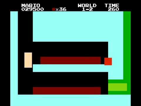 Super Mario Bros - The Pixle Kingdom - Atari Super Mario Bros? - User video