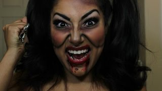 Annabelle Makeup Tutorial Annabelle Movie The Conjuring