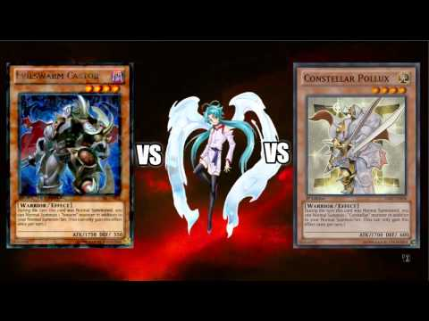 Problem solve: Evilswarm Castor and Constellar Pollux vs veiler(rant)