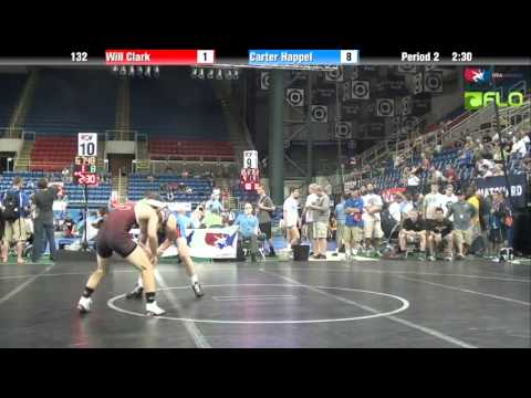 Cadet 132 - Will Clark (North Carolina) vs. Carter Happel (Iowa)
