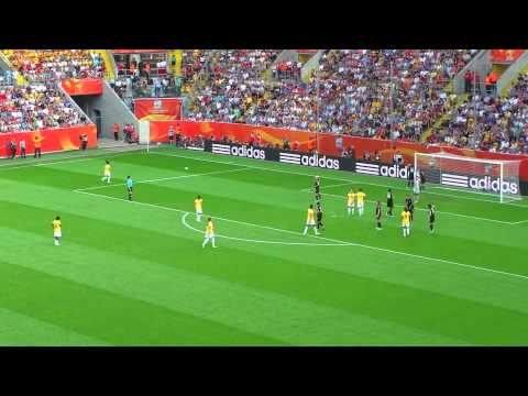 Luar Biasa  Women's World Cup 2011 match QF + Brazil vs USA [part 5]  2014  Memukau