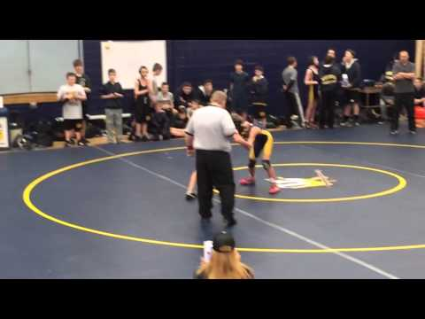 The conclusion of David's match on 2/12/2014