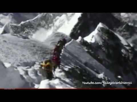 Buried under snow: Mount Everest guide's avalanche ordeal