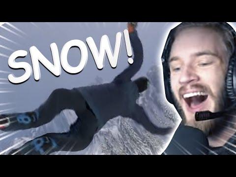 SKATE 4 SKIING?! (Snow)