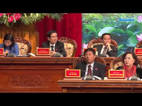 Ban thuong vu Thanh uy Ha Noi