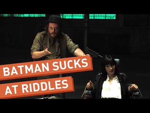 Batman Meets the Riddler (From Front Page Films)