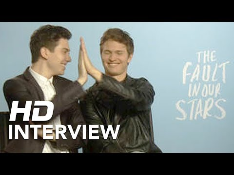 The Fault in Our Stars | Nat Wolff and Ansel Elgort Interview | Official HD Footage | 2014
