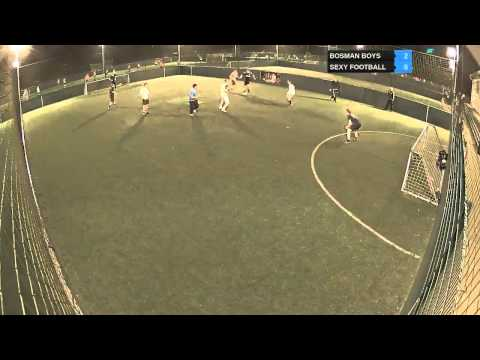 BOSMAN BOYS Vs SEXY FOOTBALL - 14-04-14 21:40 - Div 3 - Monday 5's - Watford Lucozade Powerleague