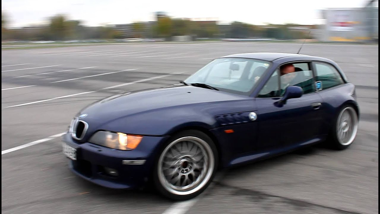 Bmw Z3 2 8 Coupe Drift Youtube
