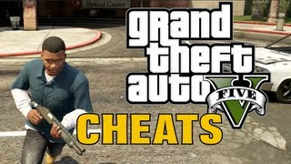GTA 5 Gameplay With CHEATS!!! (GTA V Cheat Codes)