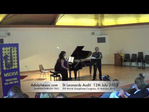 WSCXVI SAMPEN SHRUDE TRIO   Sonata by Vache Sharafyan