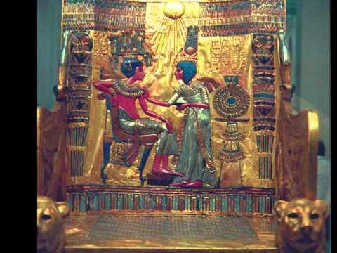 King Tut's Treasures.  ANCIENT EGYPT