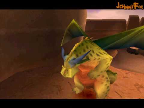 Spyro the Dragon -08- Dry Canyon